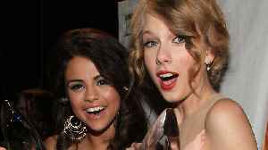Selena Gomez SURPRISES Taylor Swift With The SWEETEST Present! [Video]