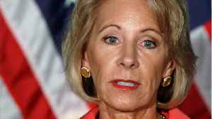 Education Secretary Betsy DeVos Forced To Cancel $150 million In Student Loans [Video]