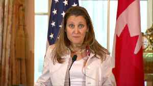 Huawei case must remain apolitical: Freeland [Video]