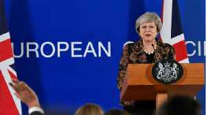 UK PM May Remonstrates With EU As Her Brexit Plea Is Cast As Humiliation [Video]