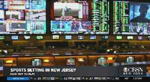 News video: NJ Launches App-Based Way To Place Online Sports Bets