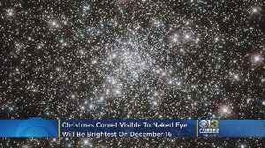 'Christmas Comet,' The Year's Brightest Comet, Will Streak By Earth This Weekend, Won't Reappear For 20 Years