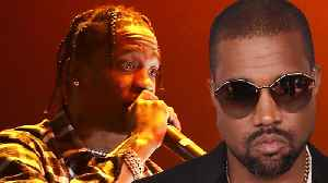 Kanye West's SLAMS Travis Scott In Twitter Rant After Drake DISSES Him On 'Sicko Mode'! [Video]