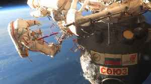 Cosmonauts Do Spacewalk To Find Mysterious Hole In Spacecraft At ISS [Video]