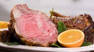 How to Make Fennel-Crusted Rib Roast [Video]