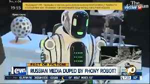 Dancing robot was a fake? [Video]