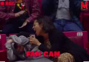 Check Out This Mom Rocking Out to Kelly Clarkson, Fully Embarrassing Son at Basketball Game [Video]