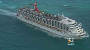 Coast Guard Searching For Man Who Went Overboard From Carnival Ship [Video]