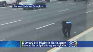 Nearly $300,000 Remains Missing After Armored Car Spilled Cash Onto New Jersey Highway [Video]
