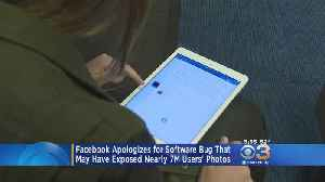 Facebook Reveals Bug Exposed 6.8 Million Users' Photos [Video]