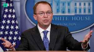 President Donald Trump Picks Mick Mulvaney As Acting Chief Of Staff [Video]