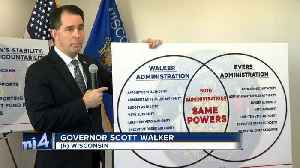 Walker signs lame-duck bills