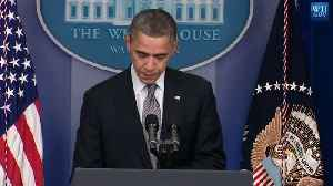 Barack Obama's Statement to the Nation after Sandy Hook Shooting [Video]