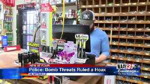 Police: Bomb Threats Ruled a Hoax [Video]