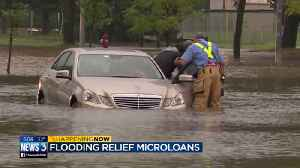 Interest-free microloans help businesses hit by flooding stay afloat [Video]