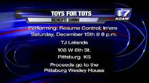 Toys for Tots Benefit Interview [Video]