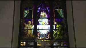 VIDEO: Church windows threatened over building project [Video]