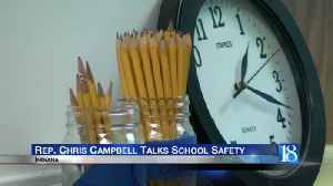 Incoming State Representative Chris Campbell talks school safety [Video]