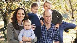 Prince William and Kate Middleton Are Country Casual in Annual Family Christmas Card [Video]