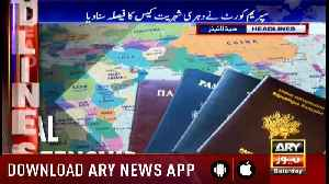 Headlines ARYNews 1600 15th December 2018 [Video]