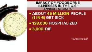 What's behind the rise in foodborne illnesses? [Video]