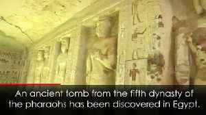 Ancient 4,400-year-old tomb discovered in Egypt [Video]