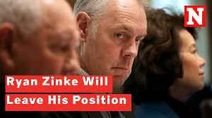 Interior Secretary Ryan Zinke Will Be Leaving His Position [Video]