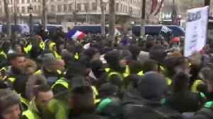 Scuffles break out during fifth weekend of Paris protests [Video]