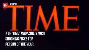 The Most Shocking Previous Time 'Person Of The Year' Covers [Video]