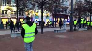 Police fire tear gas at 'yellow vest' protesters in Lyon [Video]