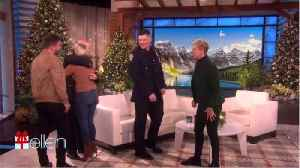 Ellen DeGeneres Gives Surprises Couple Who Lost Engagement Ring [Video]