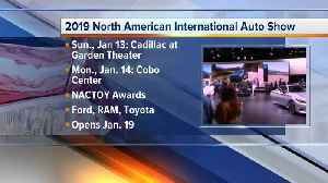 Press conference schedule unveiled for 2019 North American International Auto Show [Video]