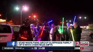 Omaha family gets Star Wars surprise [Video]