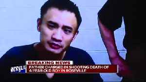 4-year-old Roseville boy shot by another child, father arrested [Video]