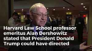 Harvard Law Prof Emeritus Trump Could've Paid $1 Billion In Hush Money And It Wouldn't Be Illegal [Video]