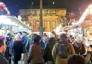 Strasbourg Christmas Market Reopens to Lively Crowds [Video]