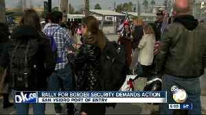 Rally for border security demands action in San Ysidro [Video]