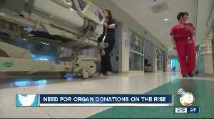 Need for organ donations on the rise [Video]