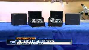 Jeweler honors fallen MPD officers with 'Thin Blue Line' watches [Video]