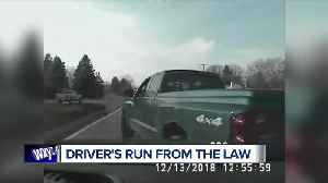 Drunken driver arrested for hit-and-run, fleeing police in Shelby Township [Video]