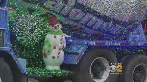 Cement Mixers Puts On Holiday Display For The Season [Video]