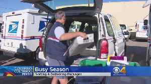 Postal Carriers Busy This Time Of Year [Video]