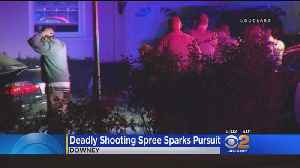 Deadly Shooting Spree Sparks Pursuit [Video]