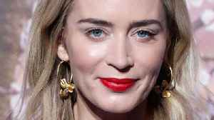 Putting It Bluntly: Emily Blunt's No-Nonsense Rules For Gorgeous Hair [Video]