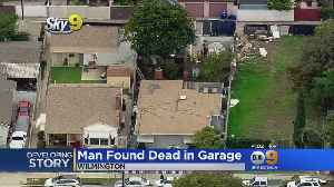 Body Found In Garage Of Wilmington Home, Foul Play Suspected [Video]