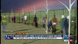 Harford County first to donate to Korean Memorial [Video]