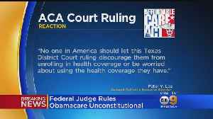 Federal Judge Rules Obamacare Unconstitutional [Video]