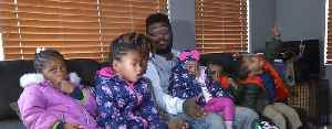Las Vegas father of six cries tears of joy after life-changing holiday gift [Video]