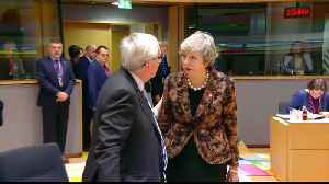 Brexit: May rebuffed by EU leaders in Brussels [Video]