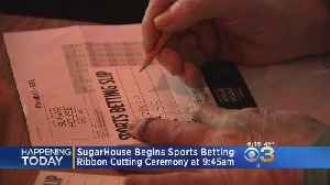 SugarHouse Casino Becomes First In Philadelphia To Begin Sports Betting [Video]